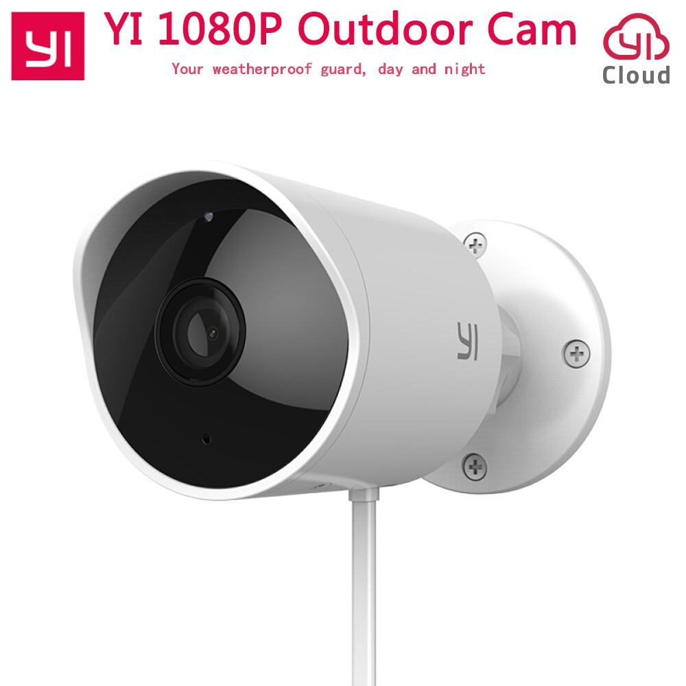 Xiaomi YI al aire libre cámara de seguridad de la nube de la cámara IP inalámbrica 1080 p de resolución impermeable noche visión, seguridad, cámara de vigilancia