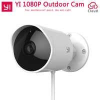 YI caméra de sécurité extérieure caméra nuage sans fil IP 1080P résolution étanche Vision nocturne caméra de Surveillance de sécurité