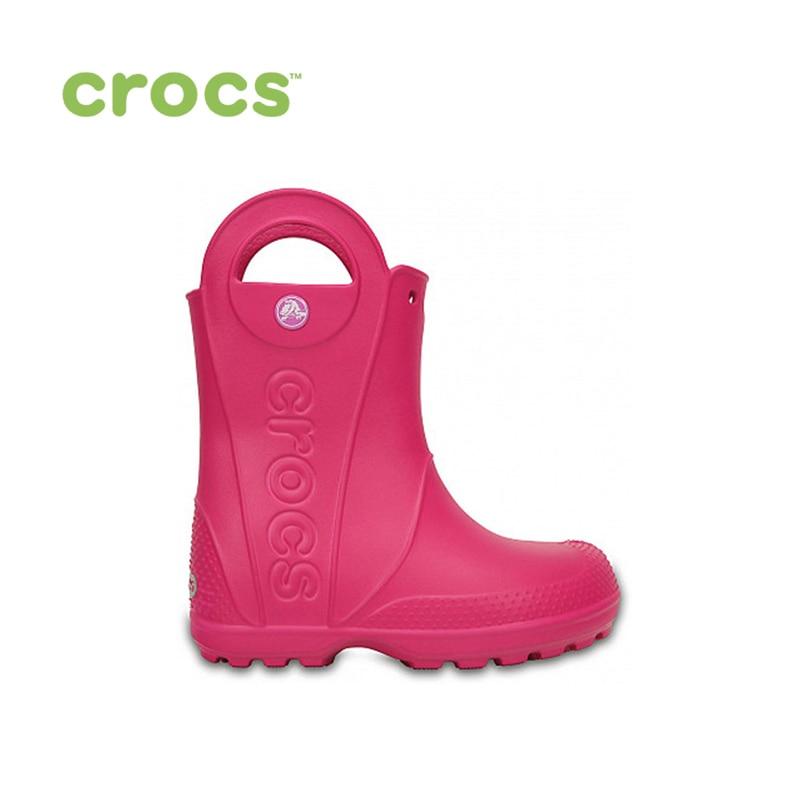 CROCS Handle It Rain Boot Kids KIDS or boys/for girls, children, kids TmallFS shoes crocs сапоги handle it rain boot синий