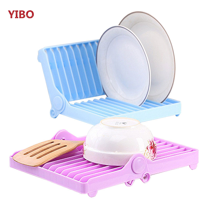 Dishes, Drain, Plastic, Dish, YIBO, Household