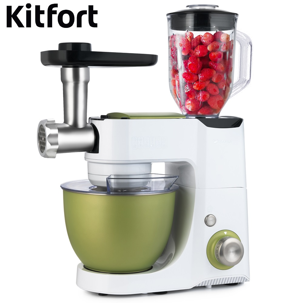 Food Mixer electric kitchen Kitfort KT-1332 Cocktail shaker mixers Planetary mixer Dough Mixer with bowl Kitchen machine 2016 newly bathroom single hole deck mounted kitchen sink faucet tap brushed nickel pull down sprayer kitchen mixer water