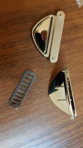Mode Metalen Sluiting Tas Accessoires Draai Slot Twist Locks voor DIY Handtas Schoudertas Purse Goud, Zwart, Brons, Zilver photo review
