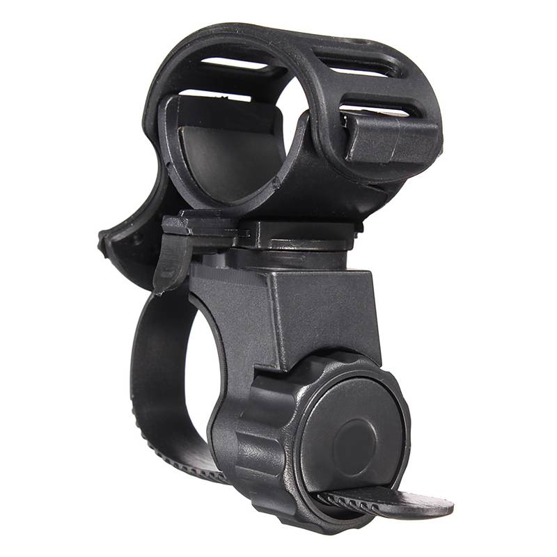Adjustable Light Lamp Holder Clip 360 Degree Bike Bicycle Flashlight Torch Mount Holder Clamp Clip ...