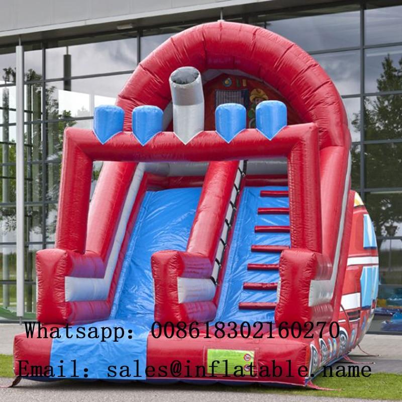 Glissières gonflables commerciales de PVC avec le ventilateur pour la glissière d'enfants