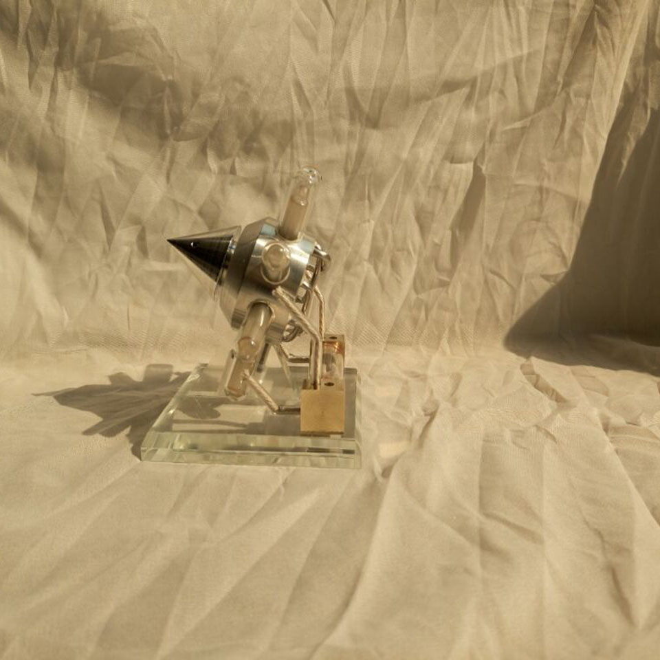Модель двигателя Стирлинга, звезда