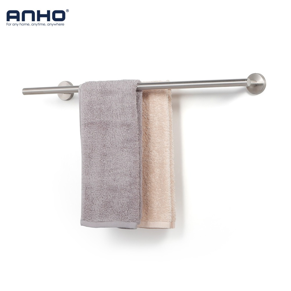 304 Stainless Steel Towel Holder Double Round Tube Bathroom Hanger Towel Rail Bath Holder Storage Rack Accessories304 Stainless Steel Towel Holder Double Round Tube Bathroom Hanger Towel Rail Bath Holder Storage Rack Accessories