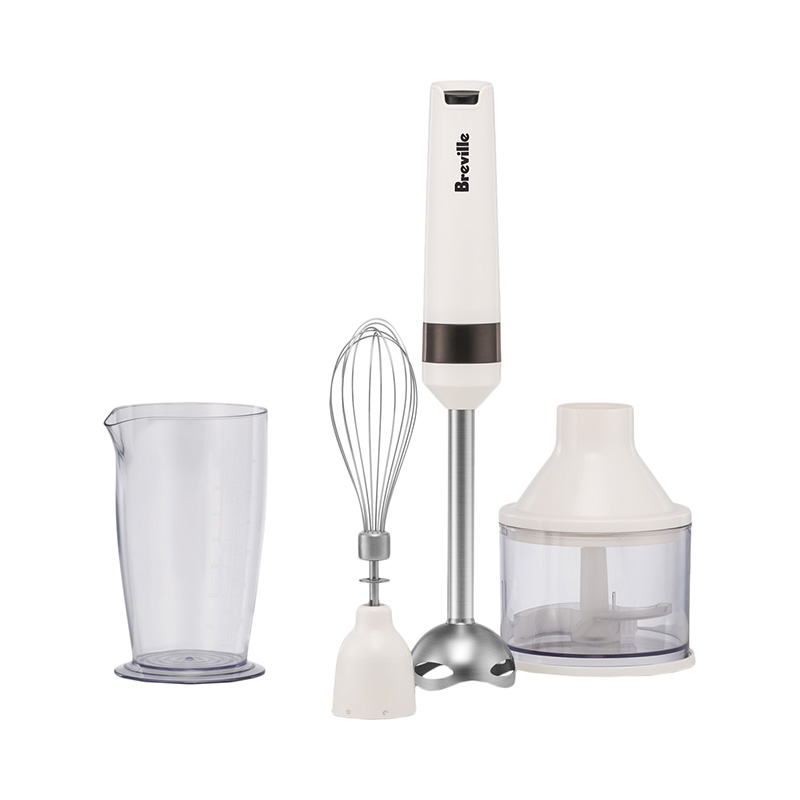 Blender Breville B360 immersion with wisk with chopper kitchen for smoothies electric mq535 electric smart kitchen food cuisinart stick hand blender mixer immersion for vegetable chopper with cups 110v 220v 700w