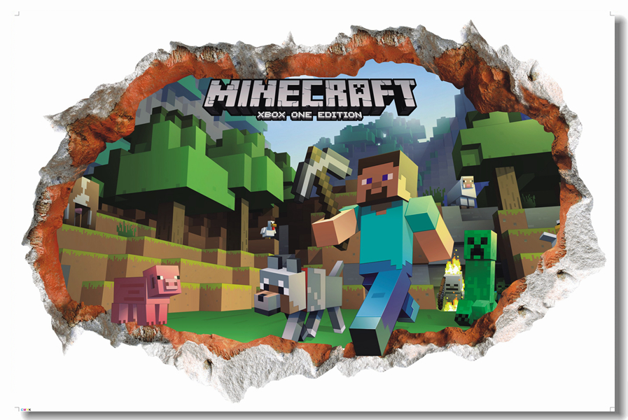 Minecraft Kids Room Decor