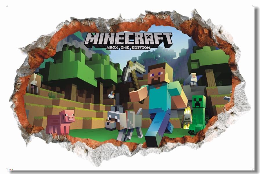 Minecraft Kids Room Decor