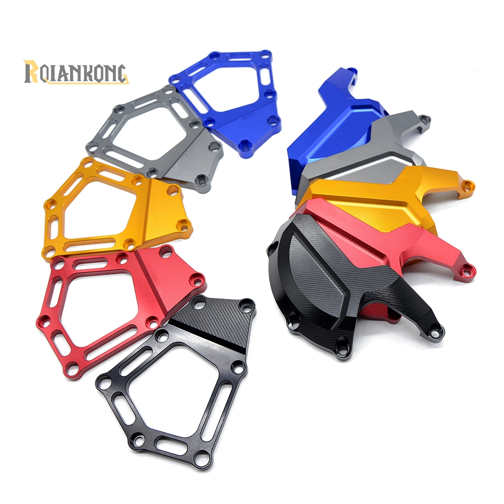 Motorcycle Motor For BMW S1000RR HP4 K42 K46 2009 -2011 2012 2013 2014 Accessories Engine Stator Case Guard Cover Slider Protect motorcycle radiator grill oil cooler guard cover protector for 2009 2010 2011 2012 2013 2014 2015 bmw s1000rr s1000 rr abs k46