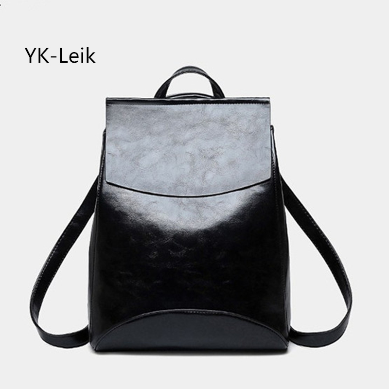 цены  Fashion Women Backpack High Quality Patent leather Backpacks for Teenage Girls Female School Bags Shoulder Bag Mochila Feminina