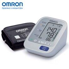 Тонометр OMRON M3 Expert (HEM-7132-ALRU), Измеритель артериального давления и частоты пульса автоматический, Адаптер+Универсальная манжета, Индикатор аритмии, Индикатор движения, Индикатор правильной фиксации манжеты