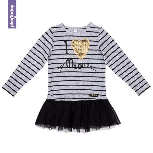 Платье PLAYTODAY для девочек 372024
