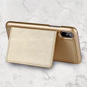 Image 4 - 4in1 Lederen Portemonnee Tas Case Voor Iphone 11 Pro Xr Xs Max X 6 7 8 Plus 12 Afneembare Telefoon cover Meisje Vrouwen Schoudertas Handtas