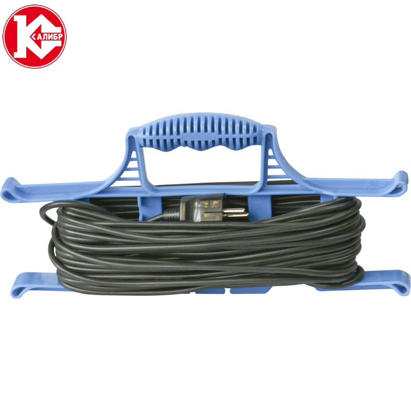 Kalibr 50 meters (2x0,75) electrical extension wire for lighting connect, cross-section 2*0.75