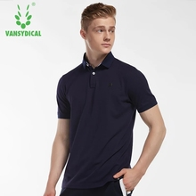 Men's Sports Polos Shirts Tops Cotton Breathable Running T-Shirts Fitness Workout Short Sleeve Sportswear Jerseys