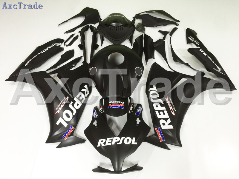Motorcycle Fairings For Honda CBR1000RR CBR1000 CBR 1000 2012 2013 2014 2015 ABS Plastic Injection Fairing Bodywork Kit A124 injection mold fairing for honda cbr1000rr cbr 1000 rr 2006 2007 cbr 1000rr 06 07 motorcycle fairings kit bodywork black paint
