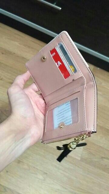 бумажник женщин; женщины портмоне; 1 цент монета; бумажник женщин;
