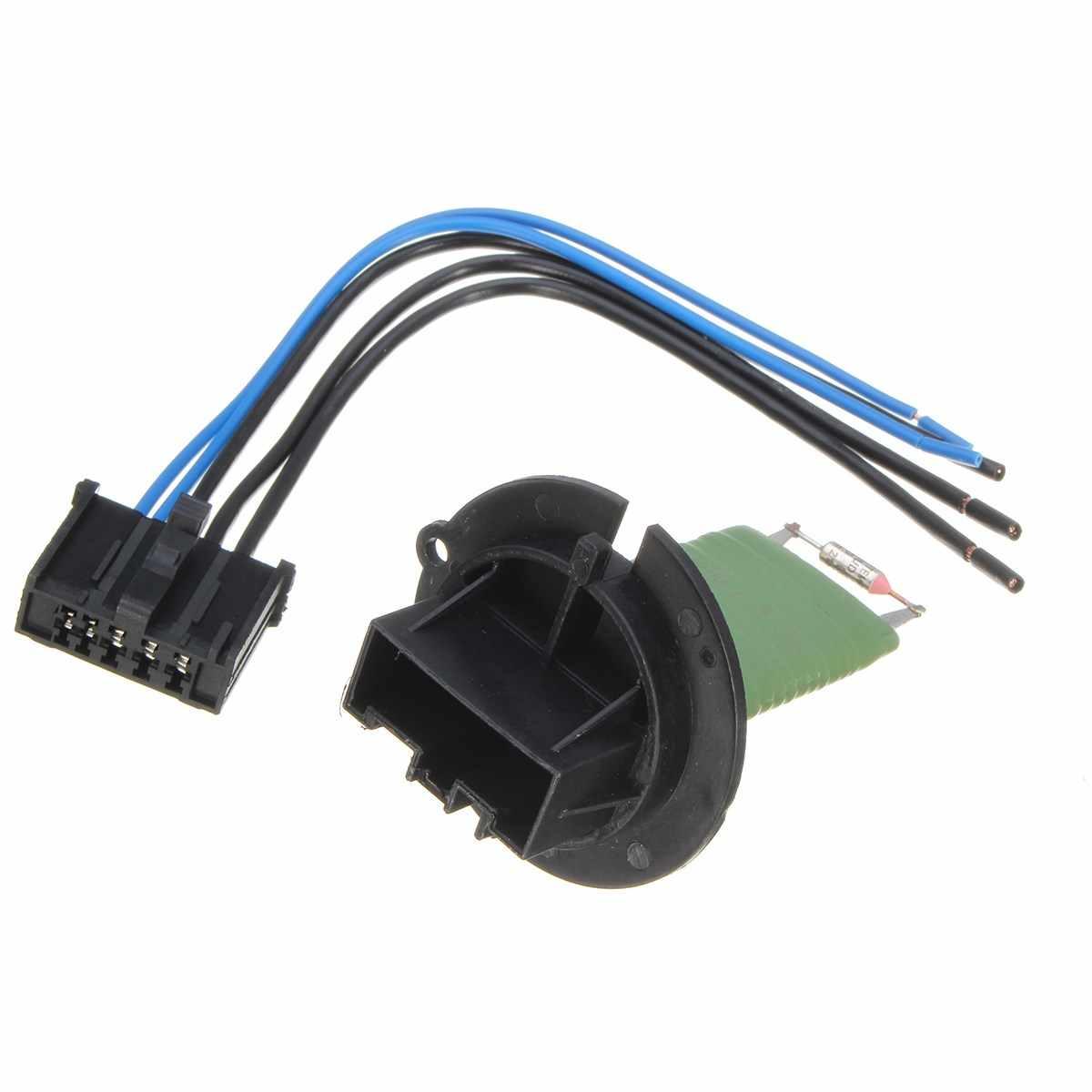 medium resolution of heater motor resistor connector wiring harness for peugeot 206 307 for citroen c3