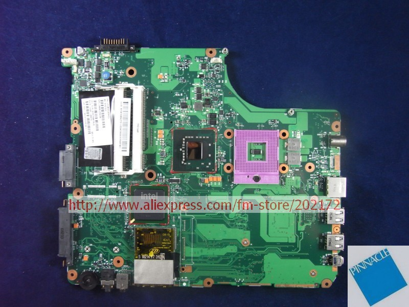 V000125640 Motherboard for Toshiba A300  6050A2169401 tested good v000125000 motherboard for toshiba satellite a300 a305 6050a2169401 tested good