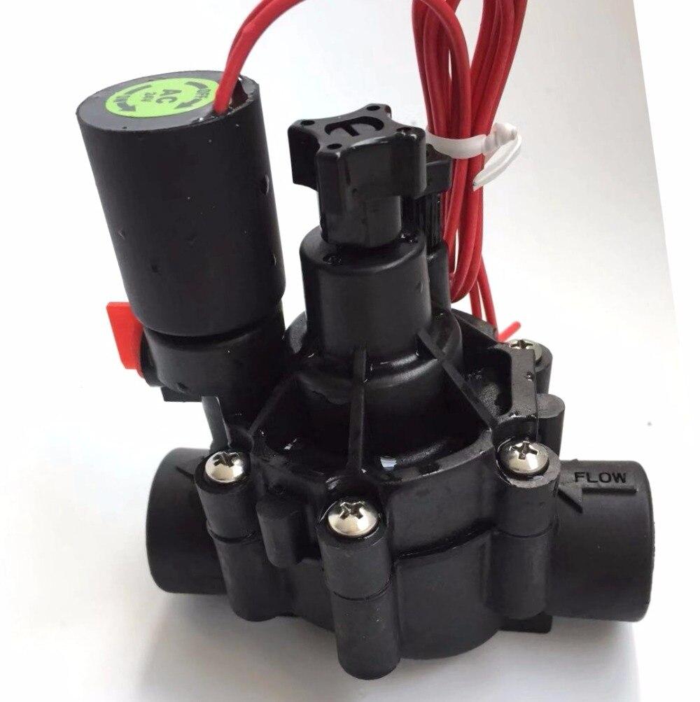 3/4 in. In-Linie Sprinkler Ventil mit Flow Control