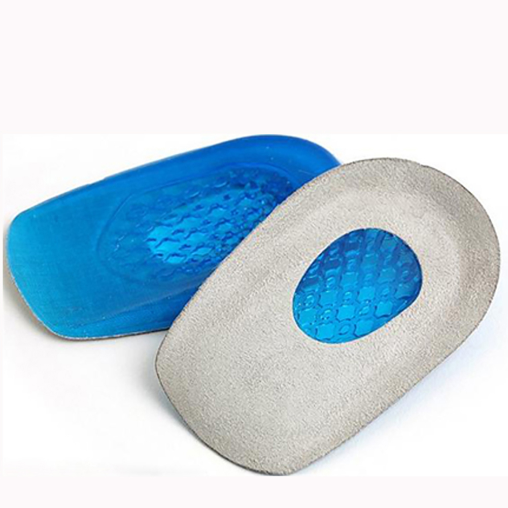 Women Shoes Insert Insole Silicone Pads For Shoes Heel Cushions Pain Relief High Heel Gel Inserts Pad Silicone Shoe Accessory