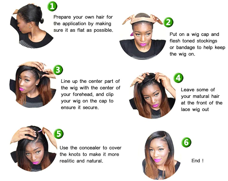 how to apply wig 2