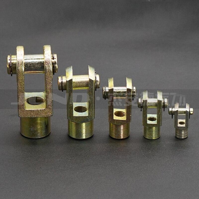 Livraison gratuite 1 pièces Y Joint M36x2.0mm femelle à mâle filetage pneumatique vérin Piston chape, F-M36X200Y