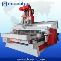 New 1325 Cnc Router With Tool Magazine Atc Cnc Router 3 Axis Cnc Milling Machine Atc