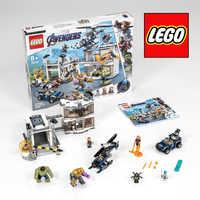 LEGO Marvel Avengers Composto Battaglia 76131 Kit di Costruzione di trasporto (699 Pezzi)