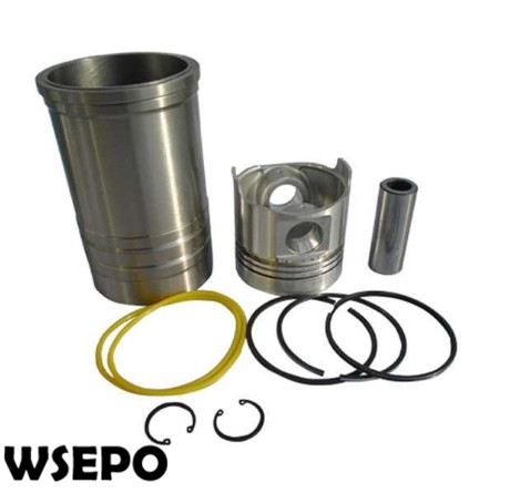 OEM Quality!  Liner+Piston Kit(6 PC kit) for EM192 Direct Injection Type 4 Stroke Small Water Cooled Diesel EngineOEM Quality!  Liner+Piston Kit(6 PC kit) for EM192 Direct Injection Type 4 Stroke Small Water Cooled Diesel Engine