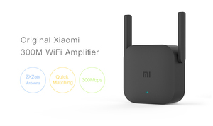 Image 4 - Xiaomi Pro 300M WiFi Amplifier WiFi Repeater 2.4G Wifi Signal Extender Roteador APP Control Wifi Extender Amplificador Black