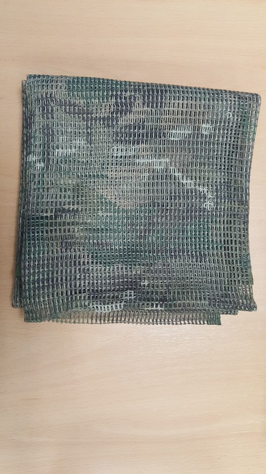 Cachecóis Algodão 190*90 Camuflagem