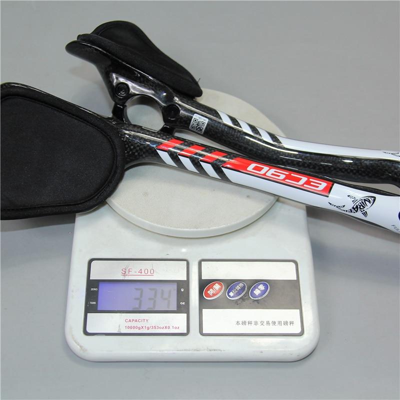 EC90 Bike Rest Handlebar Carbon Fiber Aero Bars TT Handlebar Aerobar Triathlon RedBlueGreen (5)