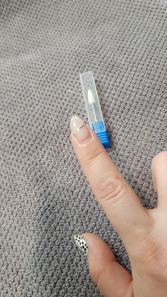 ERUIKA 13 Type Ceramic Nail Drill Bit Manicure Machine Accessories Rotary Electric Nail Files Manicure Cutter Nail Art Tools
