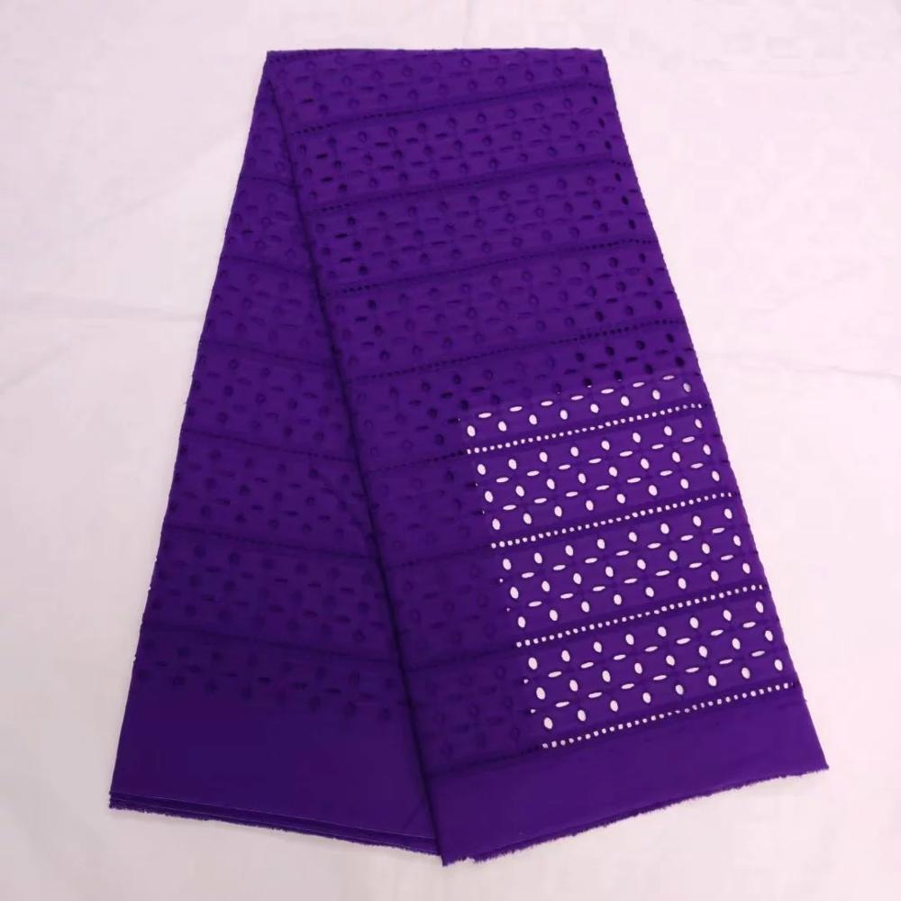 2019 Designs mode africaine Dubai qualité sèche Voile suisse coton dentelle tissu broderie maille qualité coton sec dentelle tissu