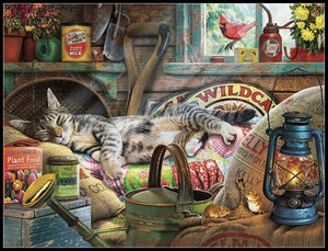 Image 4 - Cat Collection 2   Counted Cross Stitch Kits   DMC Color DIY Handmade Needlework for Embroidery 14 ct Cross Stitch Sets