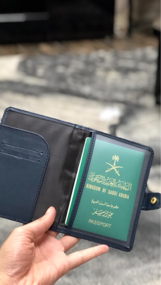 AEQUEEN RFID PU Leather Passport Holder Cover Pasport Case Travel Document Holder Women Men ID Card Passbook Wallet Cardholder photo review