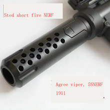 STD teddy muffler pendek api pistol air, 1911 pistol air ular, the 5 S aksesoris(China)