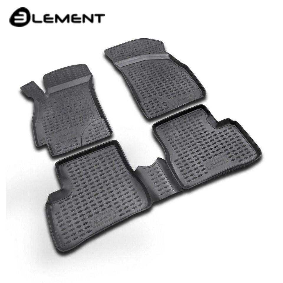 Para Hyundai acento 2000-2005 alfombras de piso en salón 4 unids/set elemento NLC2006210K