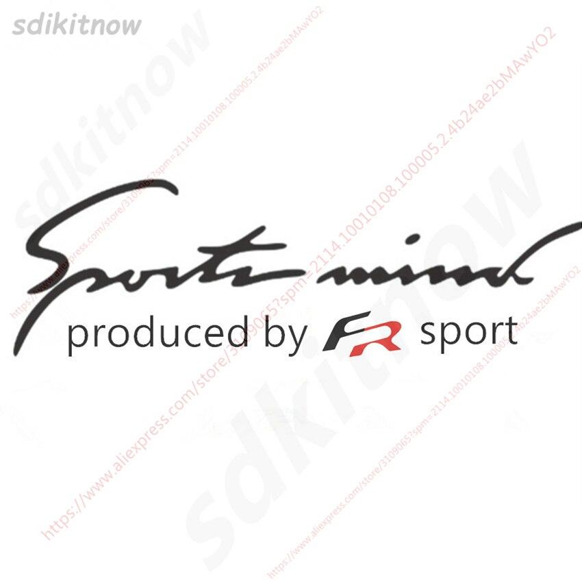 Новый 28x10 см Испания FR стайлинга автомобилей Стикеры Windows тела спортивные наклейка ...