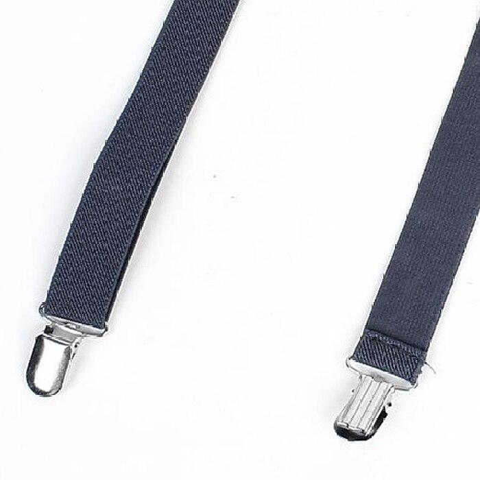 Kraftvoll Neue Frauen Männer Clip-on Verstellbare Hosen Elastische Y Zurück Hosenträger-grau Hosenträger