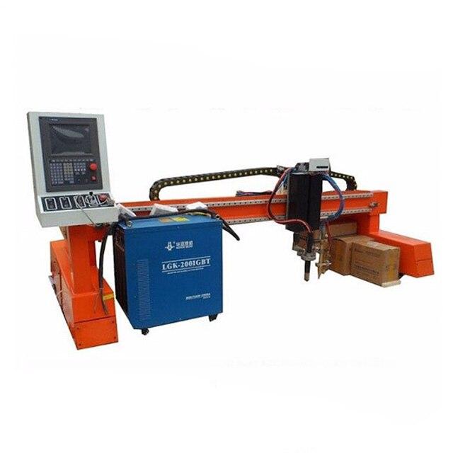 China gantry type CNC plasma cutting machine for aluminum/iron/steel/metal sheets cutting 3