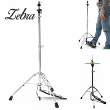 Zebra 24 39 inch Hi Hat Stand Griffin HiHat Cymbal Hardware Drum Pedal Holder Mount For