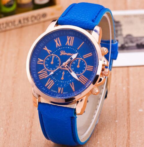 Luxury Brand Leather Quartz Watch Women Ladies Men Fashion Bracelet Wrist Watch Wristwatches Clock Relogio Feminino Masculino #3