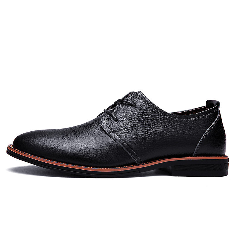 Rq18 Noir Brown Brown Chaude light Lumière De Vente En Chaussures Cuir D'affaires 2018 dark Hommes Pu Solide Casual qTA7O