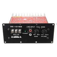 New 100W 12V Car Hi-Fi Bass Power Amplifier Powerful 6-12inch Subwoofers Digital AMP