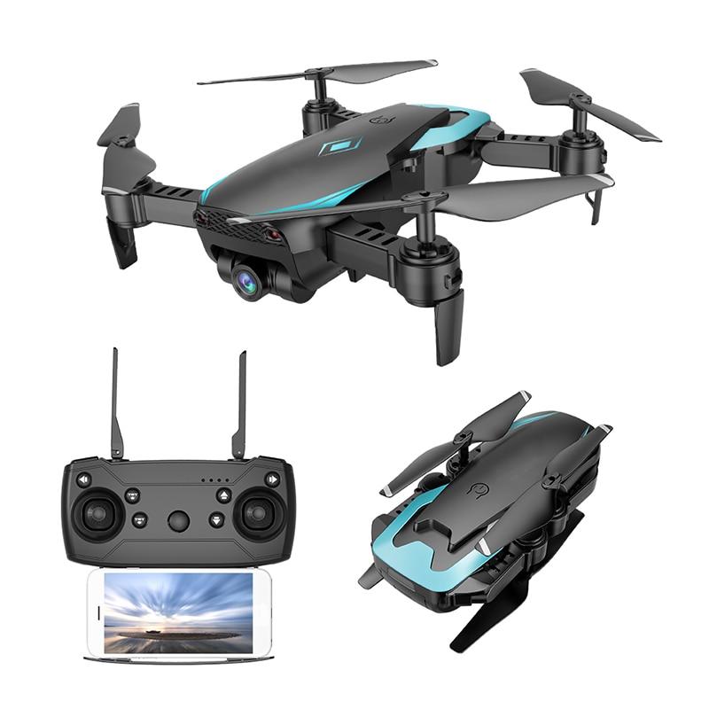 Nouveau Intelligent Rc Drone Gps WiFi FPV 2.0MP 720 p HD Caméra Maintien D'altitude 360 degrés Rollover Un- bouton Décollage Quadcopter
