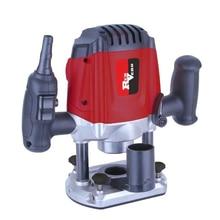 Фрезер электрический RedVerg RD-ER125 (Мощность 1250 Вт, число оборотов 12000 – 30000 об/мин, глубина хода 0-50 мм, цанга 6/8 мм)