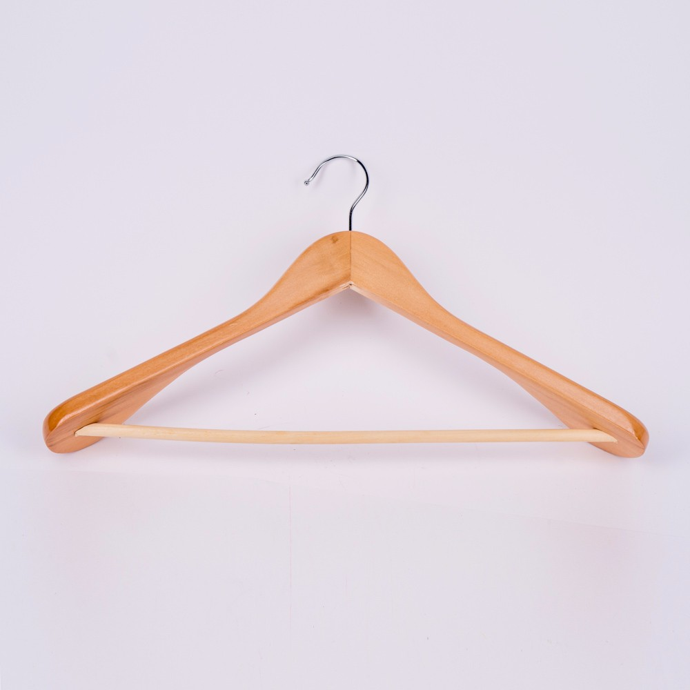 10 Pcs In A Set Wooden Hanger High Quality Hangers For Clothes Strong And Durable Wardrobe Organization
